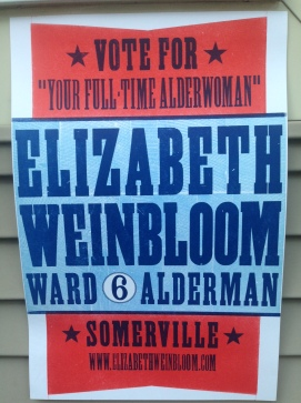 Letterpressed campaign posters from Union Press